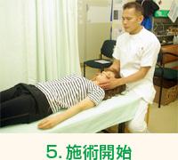 5.施術開始