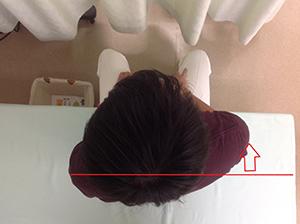 肩前(肩巻込み)タイプ
